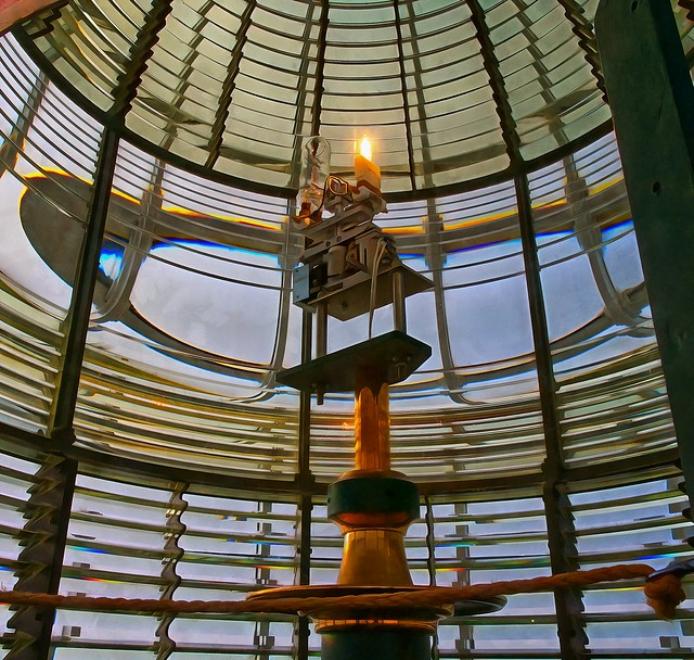 Light source - Yaquina Head Lighthous