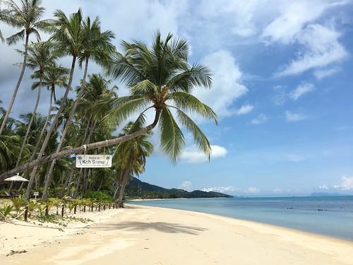 サムイ島の様子