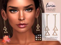 LIVIA // Haisley Earrings [50L ENERGY]