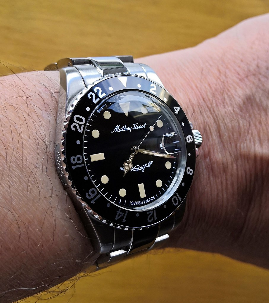Mathey-Tissot 'Rolly Vintage'  (Cal SW 200-1)