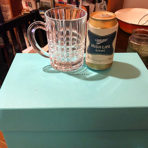 Thanks to Bill Falls and Lisa, I can drink domestic macrobrews out of a Tiffany mug 😂😂😂 | by brizzyc1