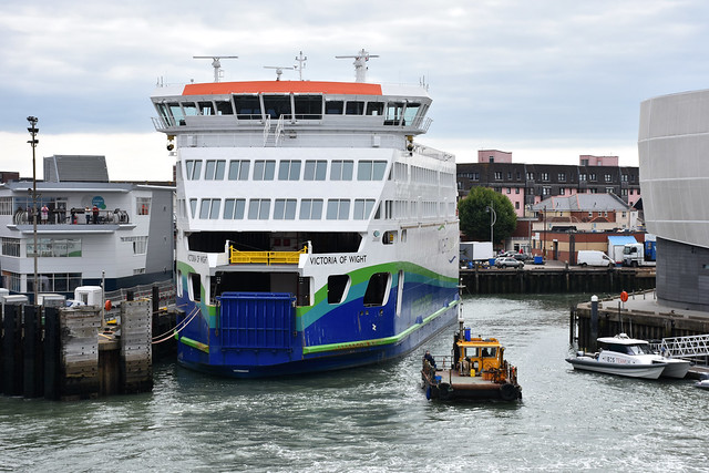 Victoria of Wight - Wightlink (IMO: 9791028)