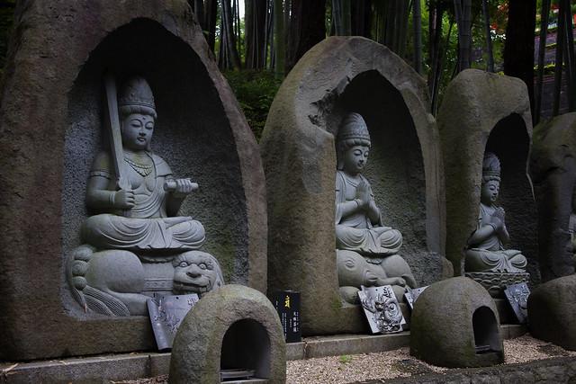 Bodhisattvas At Yamaguchi Kannon Temple, Tokorozawa