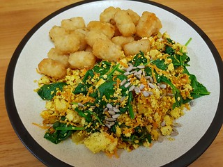 Sunshine Carrot-Tofu Scramble