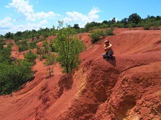 gánt vörös föld