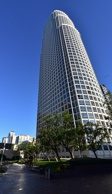 The 725 foot, 52 story 777 Tower in downtown Los Angeles.
