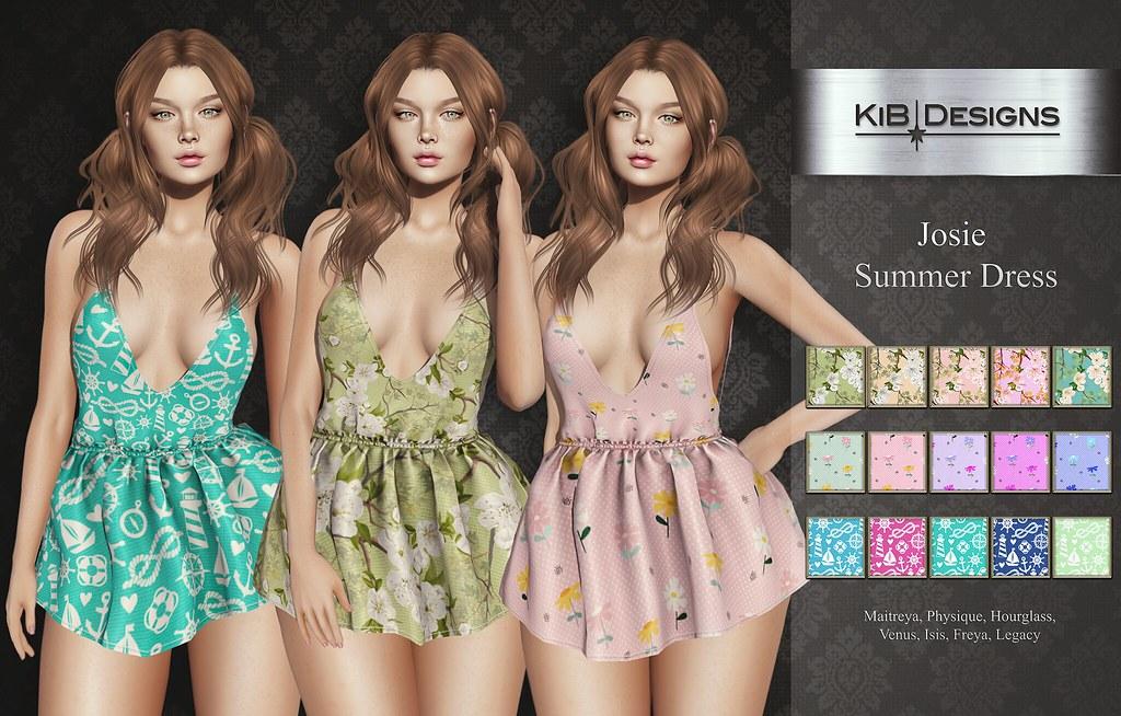 KiB Designs – Josie Summer Dress @Audacity Event