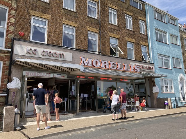 Morelli's in Broadstairs