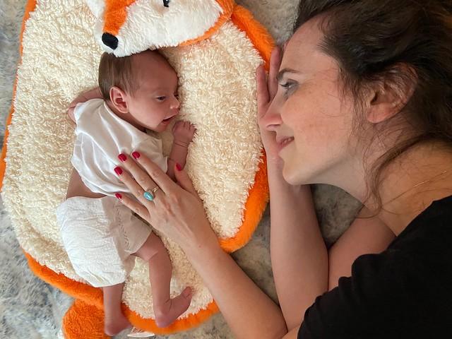 Amy & Sophie (2 weeks old)