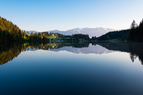 Gleinkersee Reflection | by Theo Crazzolara