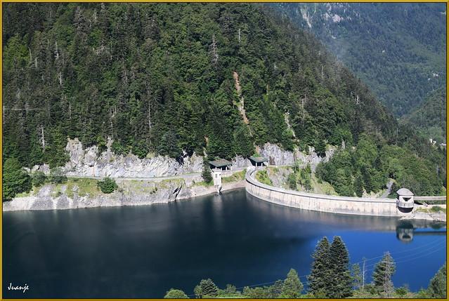 Lac de Fabrèges (Laruns, Francia, 25-7-2020)
