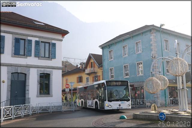 Mercedes-Benz Citaro – Transdev Rhône-Alpes Interurbain – Groupement Arve Mobilité / Arv'i n°5