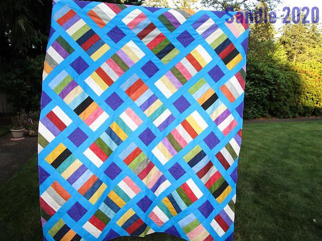 Sandie's Iris Quilt