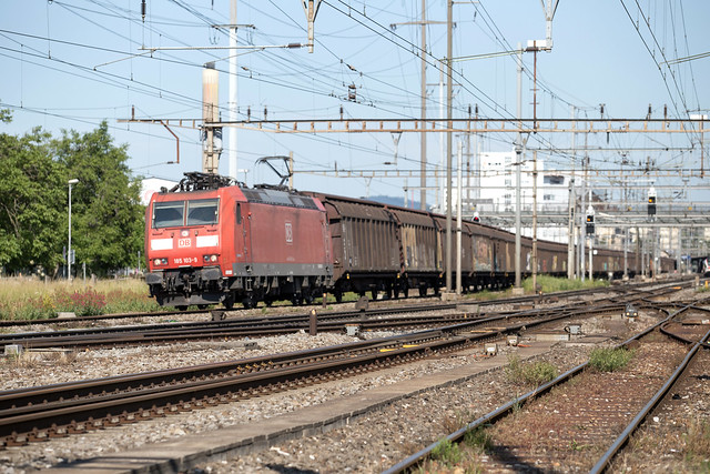 DB Cargo 185 103 Pratteln