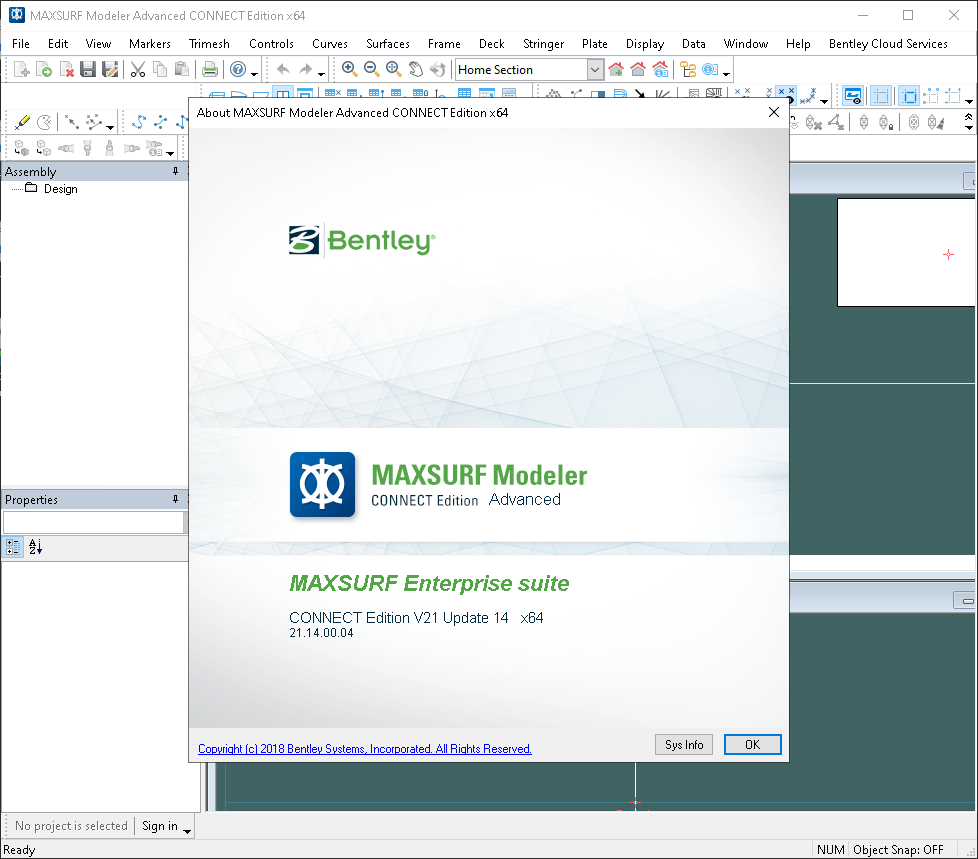 Working with MAXSURF CONNECT Edition 21 Update 14 v21.14.00.04 full