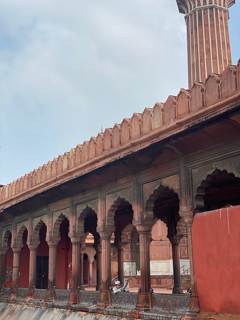 City Monument - Corona-Era Jama Masjid, Old Delhi