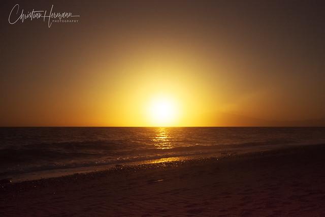 Sunset in Calabria, Italia