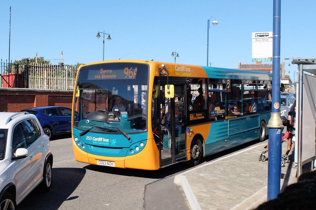 Cardiff Bus CE63 NZH, Barry Island