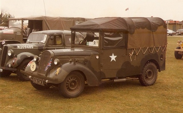 Standard Tilly 608 DKX, Duxford Military Vehicle Rally 1980s