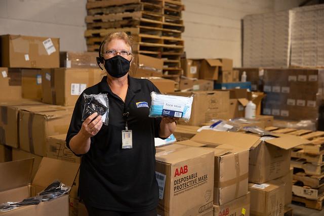 DMPS PPE Stockpile