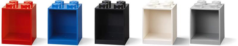 LEGO Brick Shelf 2x2