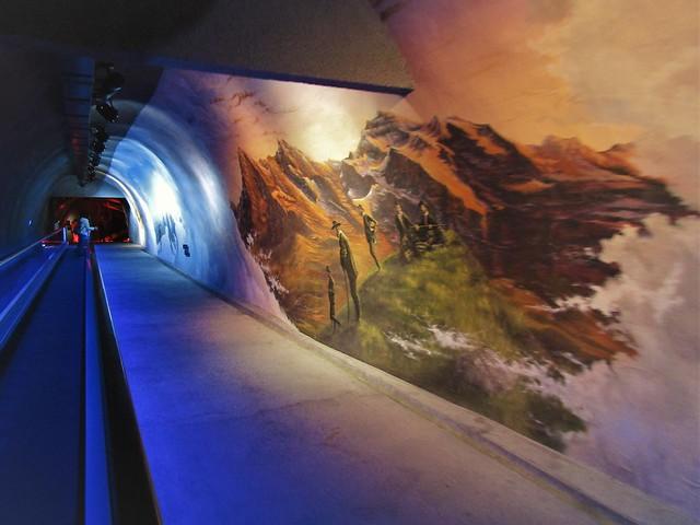 Alpine Sensation exhibition at the Jungfraujoch in Switzerland
