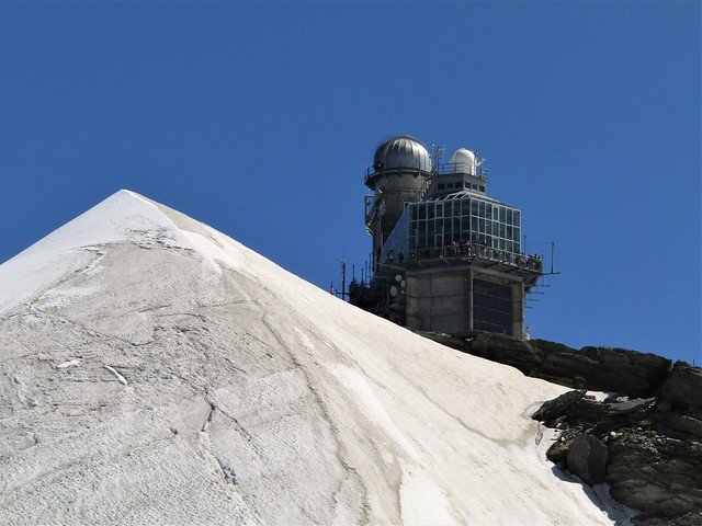 Sphinx Obervation Deck at the Jungfraujoch in Switzerland
