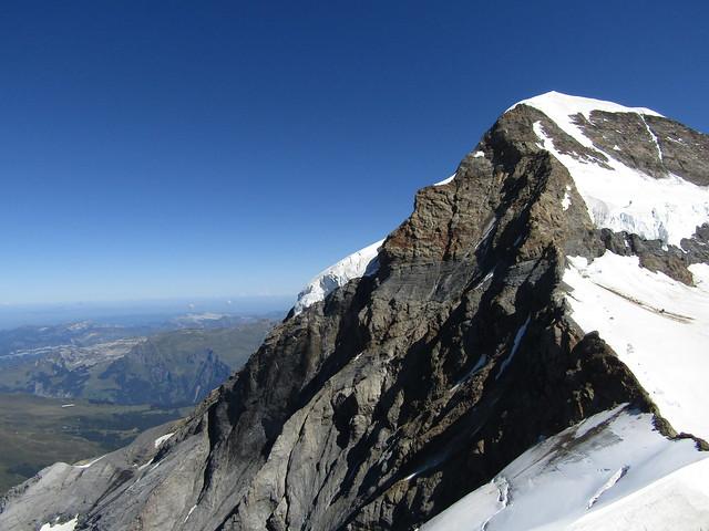 Jungfraujoch in the Berner Oberland, Switzerland