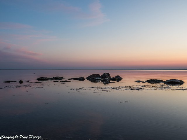 Sonnenuntergang am Kleva Badplats 062019 04