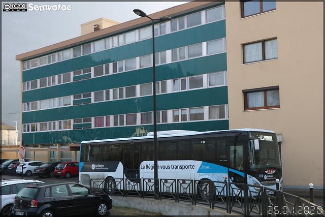 Iveco Bus Evadys – SAT Annemasse (Société Annemassienne de Transports) / Auvergne-Rhône-Alpes / Lihsa (Lignes Interurbaines de Haute-Savoie) n°382