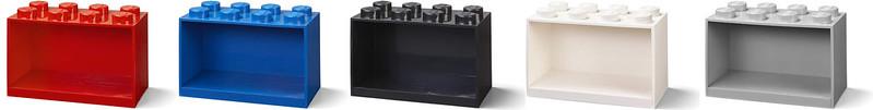 2x4 LEGO Brick Shelf