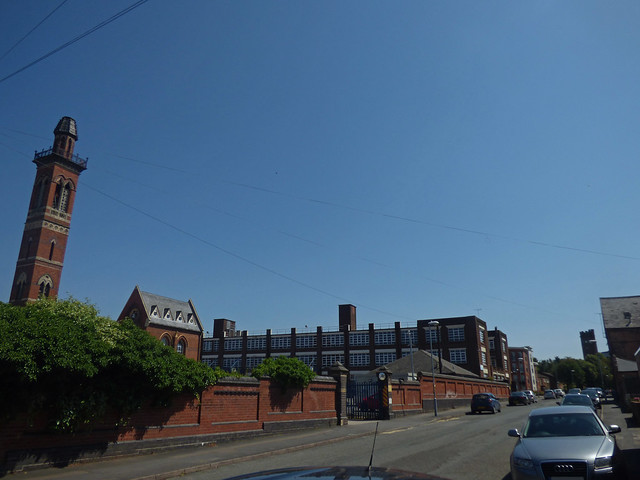The Two Towers in Ladywood during a July heatwave
