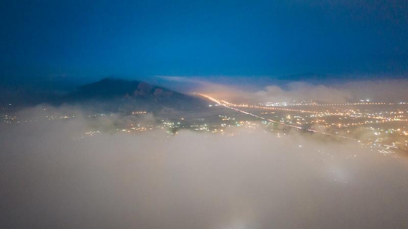 月光雲海 火炎山