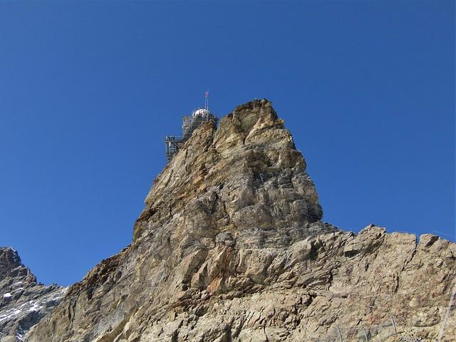 Jungfraujoch in the Bernese Oberland, Switzerland