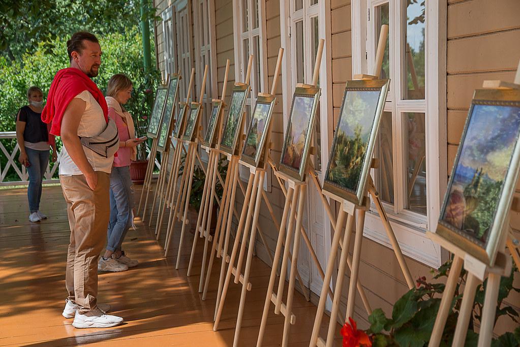 Выставка «Лермонтов-художник» 30 июля 2020 года в «Тарханах»