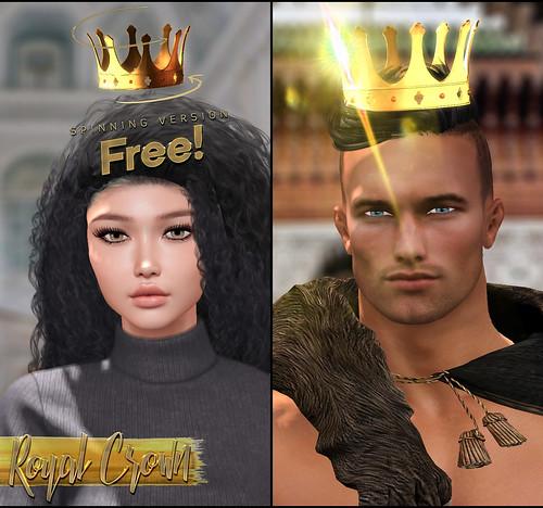 -Birth- 'Royal' Crown Freebie Advert