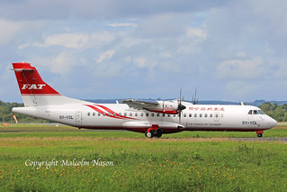 ATR72-212A OY-YCL ex B-28268 FEAT colours