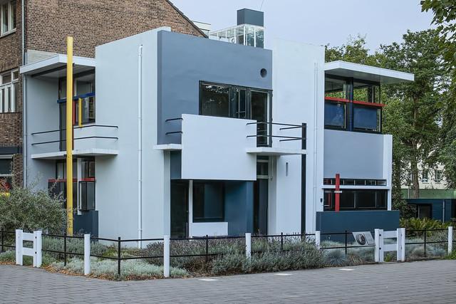 Rietveld-Schroeder House, Prins Hendriklaan, Utrecht