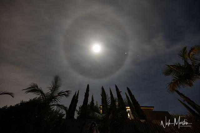 Moon Ring, Jupiter and Saturn