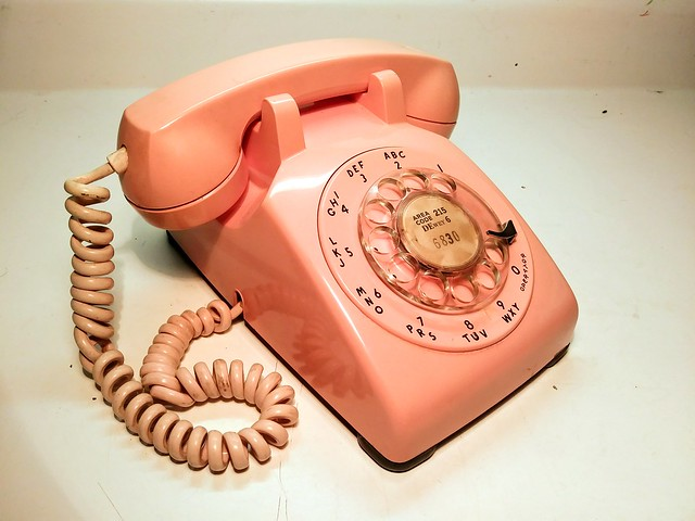 Western Electric Model 500 Telephone Pink