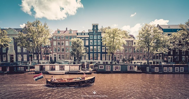 Ordinary day in Amsterdam