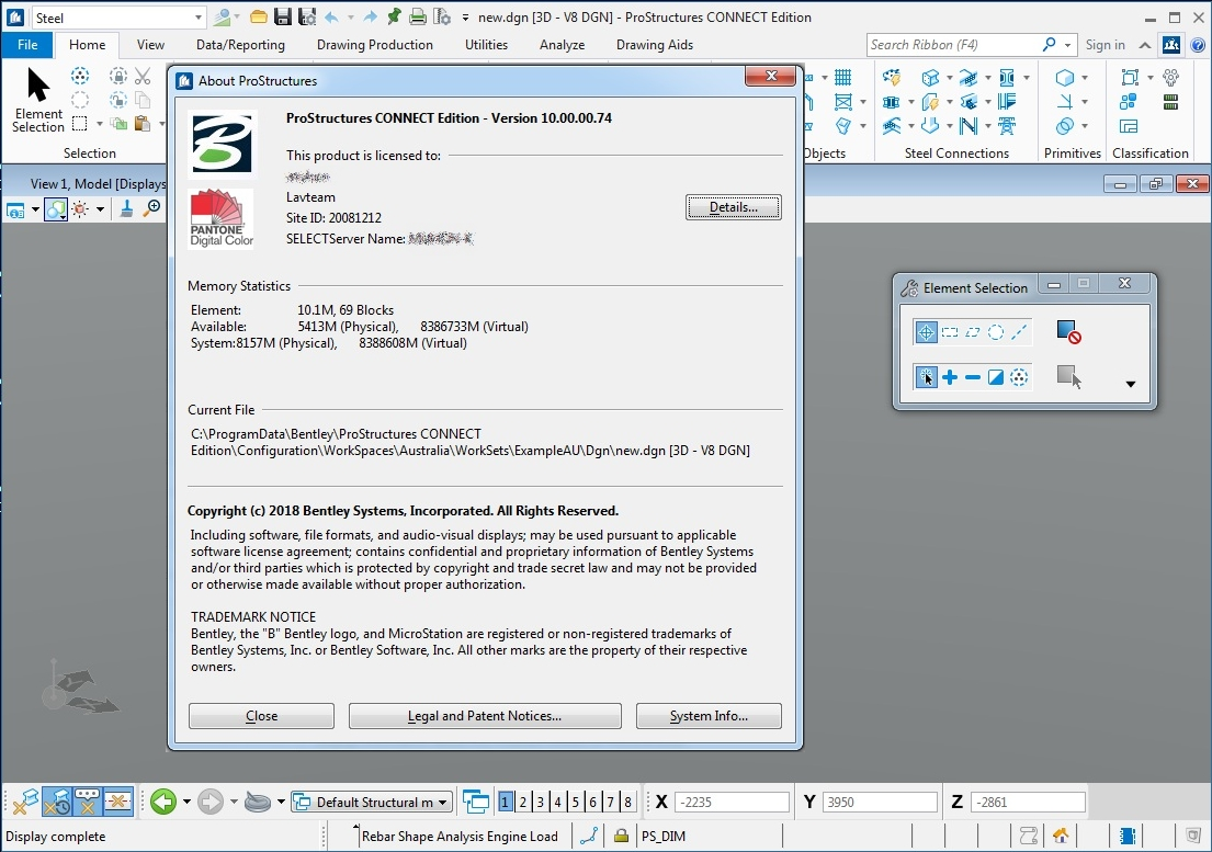Working with Bentley ProStructures CONNECT Edition V10 Update 2 full