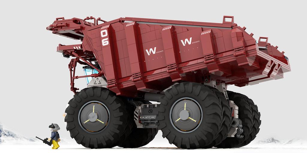 WEGENER mining Dump truck