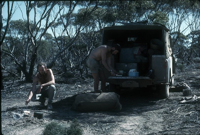 B2R25-28 DL and me  campsite for breakfast near