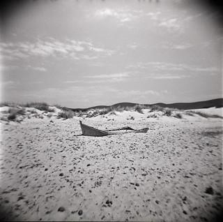 relitto, Portopino - le Dune