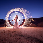 """On this day, five years ago, Kim and I were doing our first tube light-painting picture. Full story: <a href=""""https://youtu.be/MB0BEboGbOo"""" rel=""""noreferrer nofollow"""">youtu.be/MB0BEboGbOo</a>"""