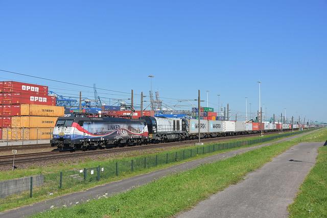 RFO 189 213 met de 1604; Vondelingenweg, 31-07-2020