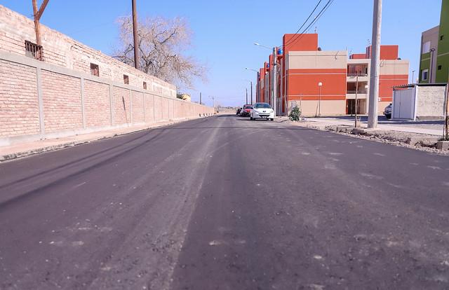 2020-07-31 Pavimentación en el barrio Conjunto 2 y 3
