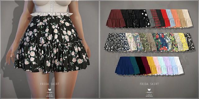Frida Skirt - FaMESHed