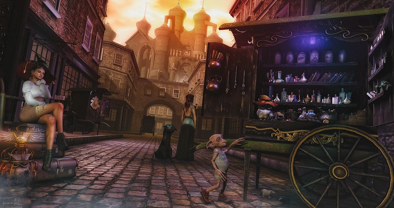 """Spotlight on the Wizarding Faire! July 27th - August 9th - """"Gathering Supplies"""""""